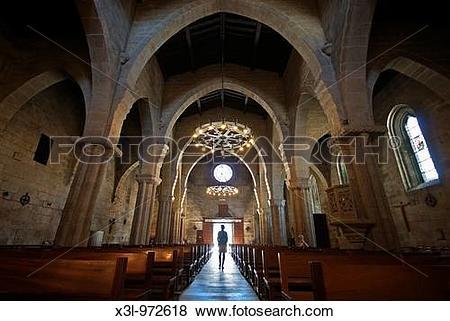 Pictures of Santa Maria church Baiona Pontevedra Galicia Spain x3l.