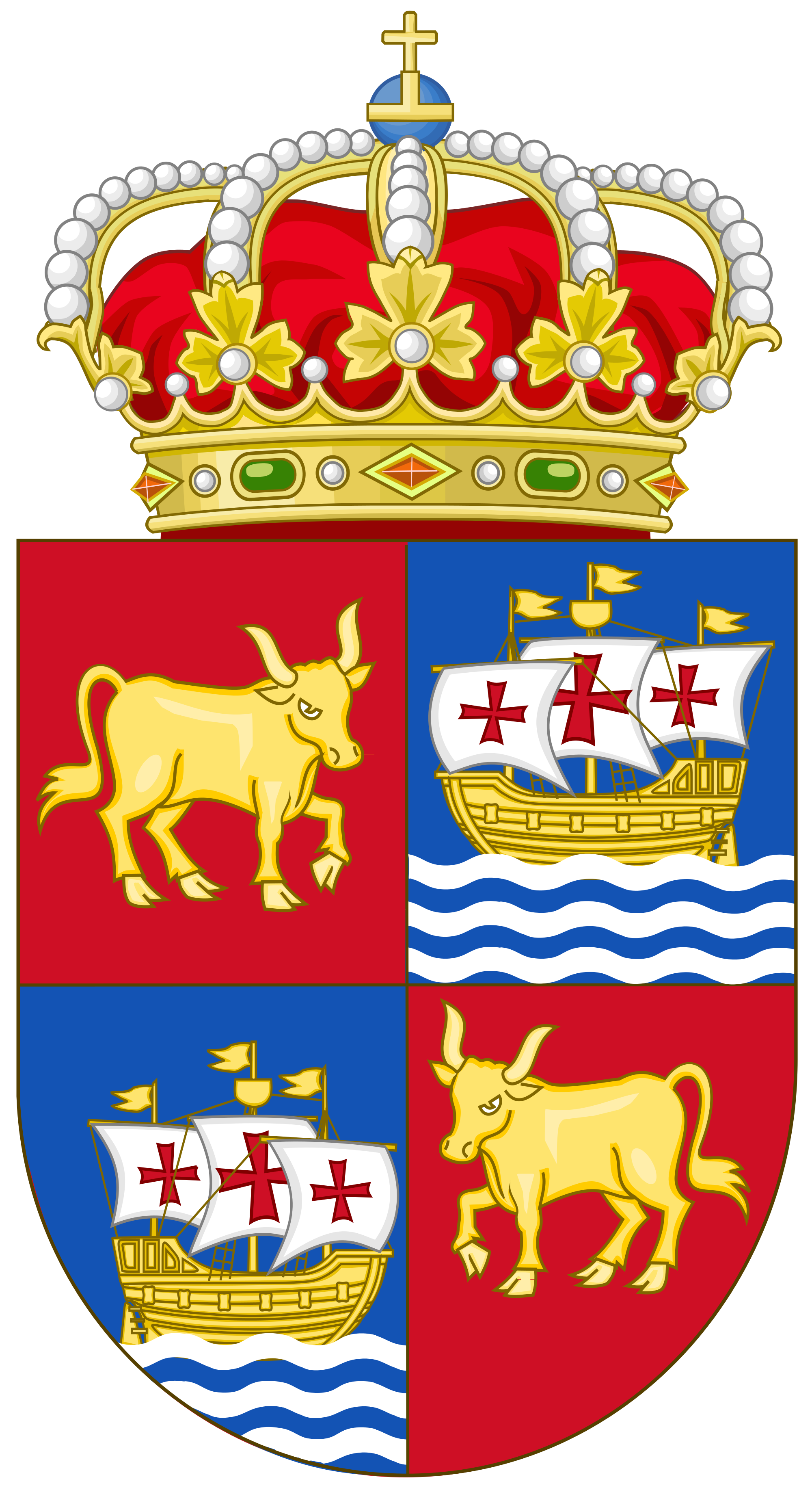 File:Coat of Arms of Baiona (Official).svg.