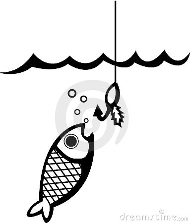 Fishing bait clip art.