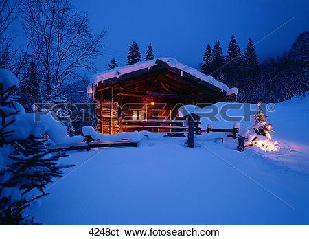 Stock Images of Baita, alpine hut 4248ct.