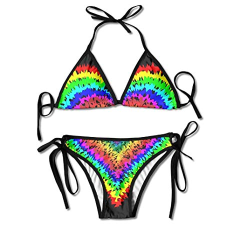 Amazon.com: GLL XKK Women\'s Bathing Suit Adjustable Peace.