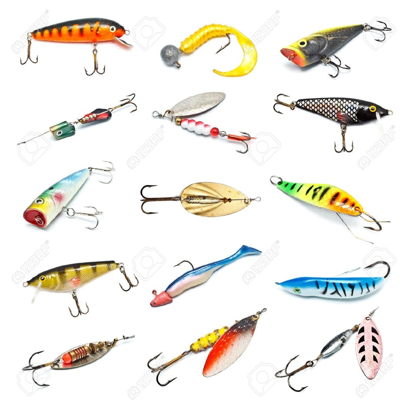 Lures clipart clipground for Types of fishing lures