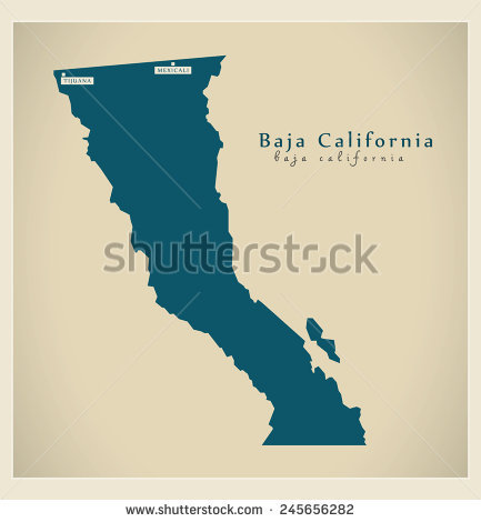 Baja California Mexico Stock Vectors & Vector Clip Art.