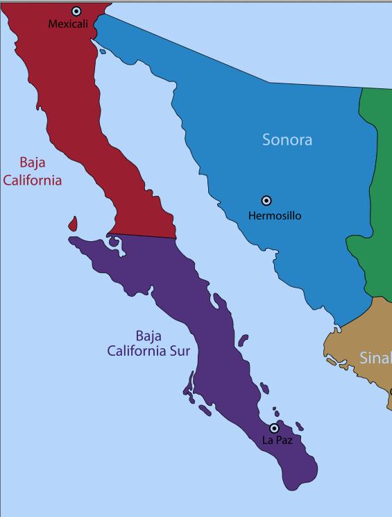 Baja California, Mexico, baja, Baja Norte.