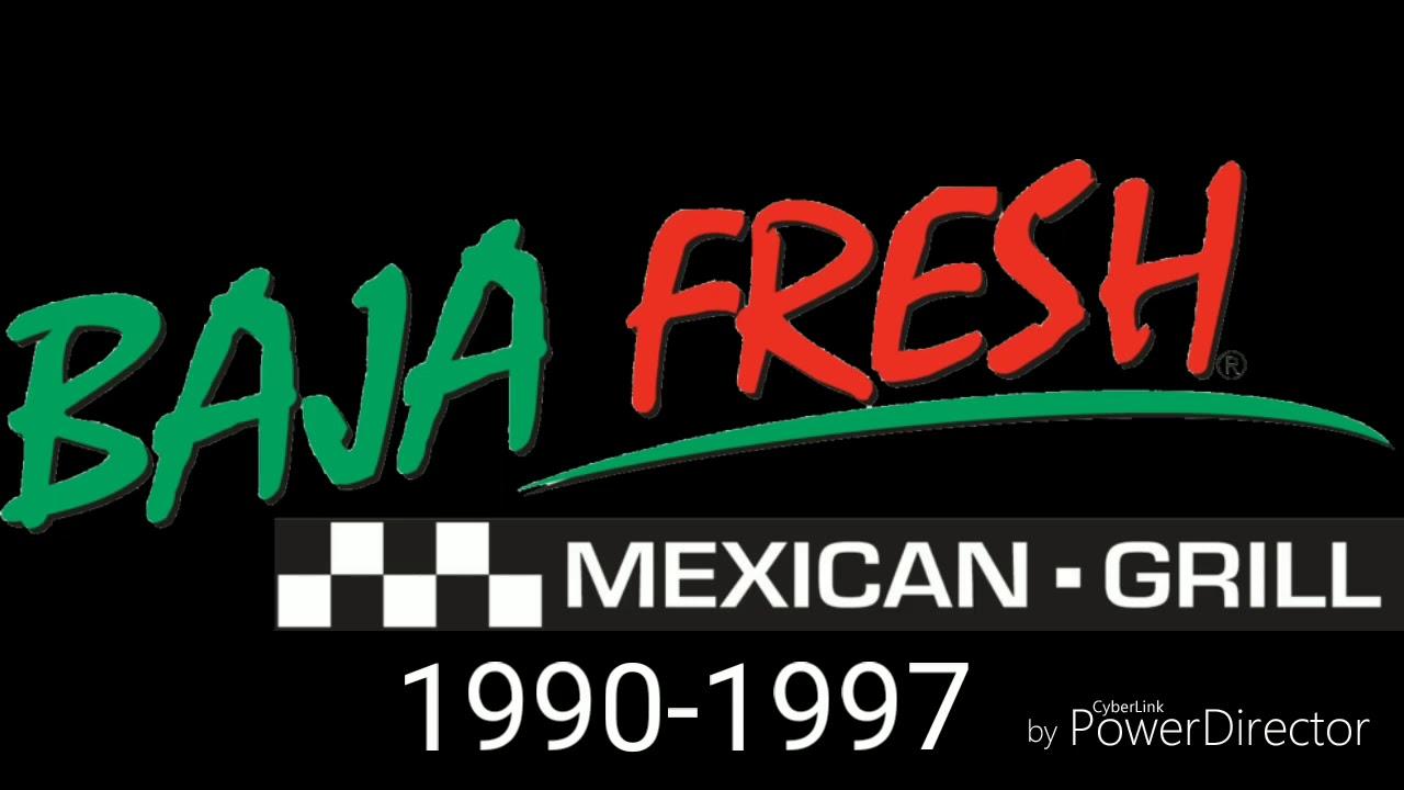 Baja Fresh Logo History (1990.