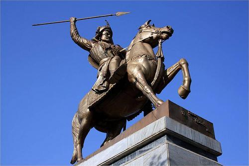 Peshwa Baji Rao Statue.