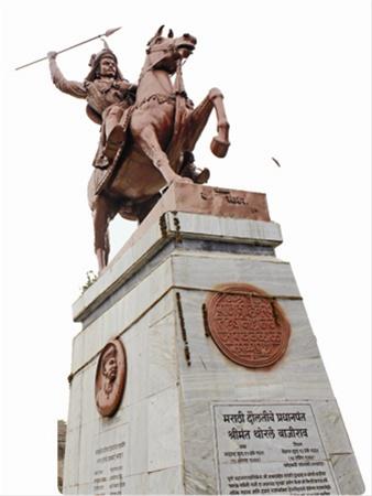 The gallant Peshwa.