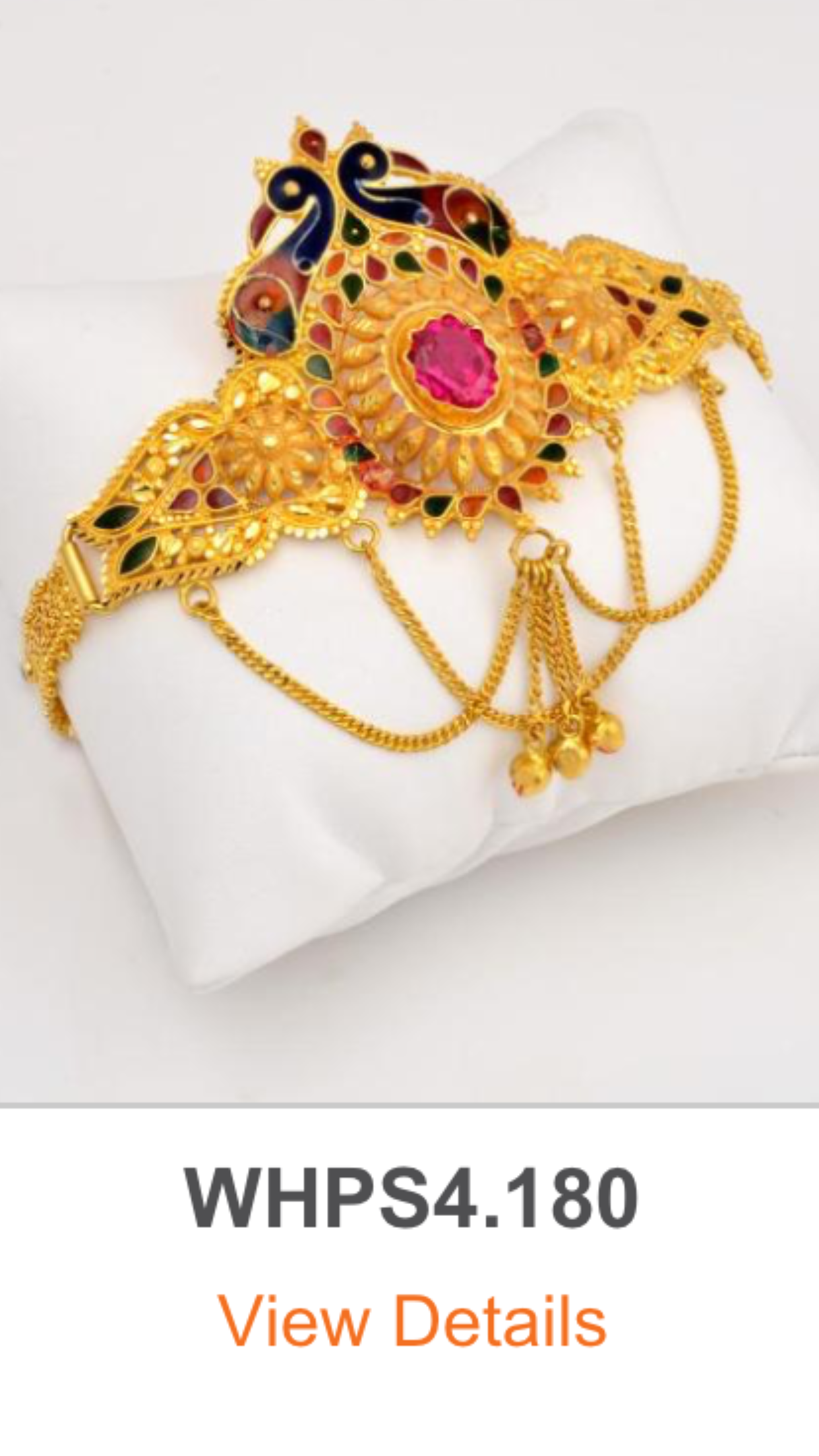 Gold Bajuband/Armlet, So attractive & my stress reliever that I am.
