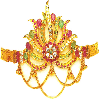 Traditional Gold Armlet.