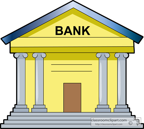 Bank clip art free free clipart images.