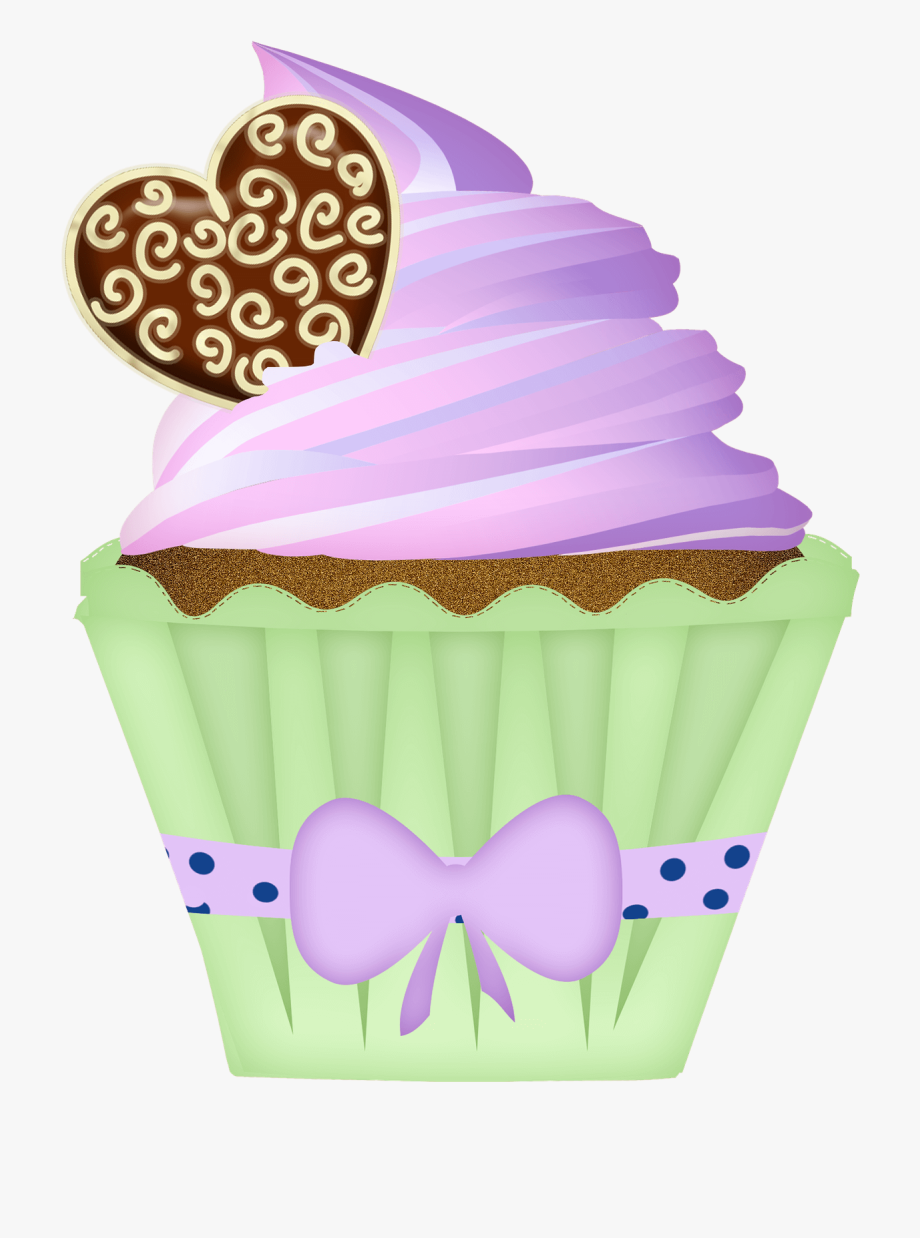 Cupcake Clipart Pink.
