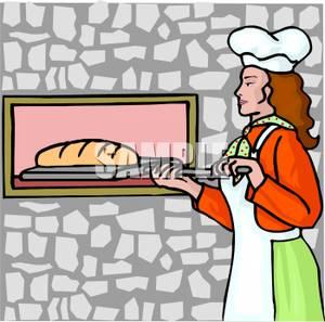 Bake bread clipart.