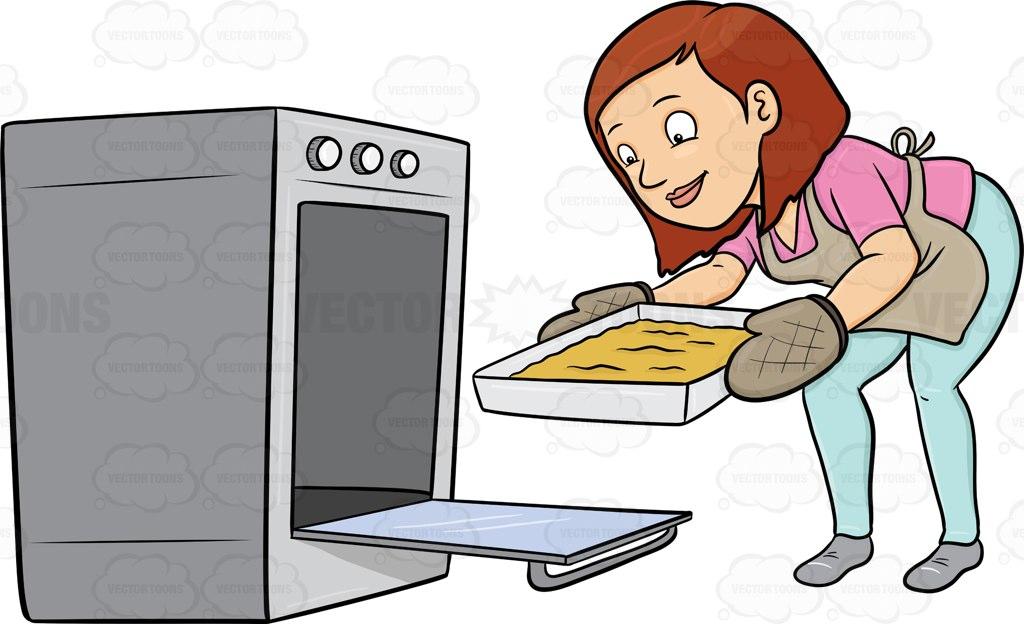 Bake oven clipart.