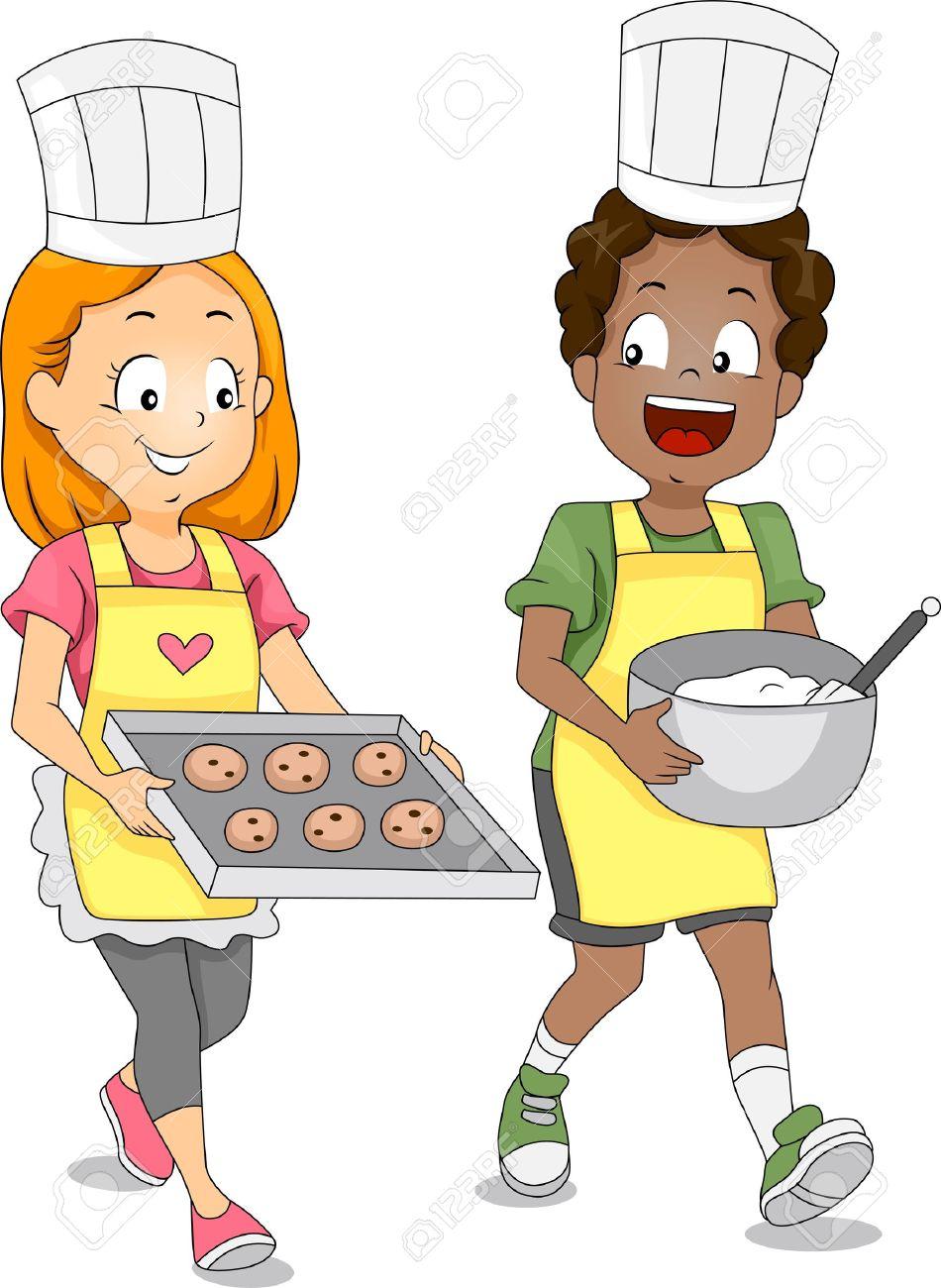 Bake cookies clipart.