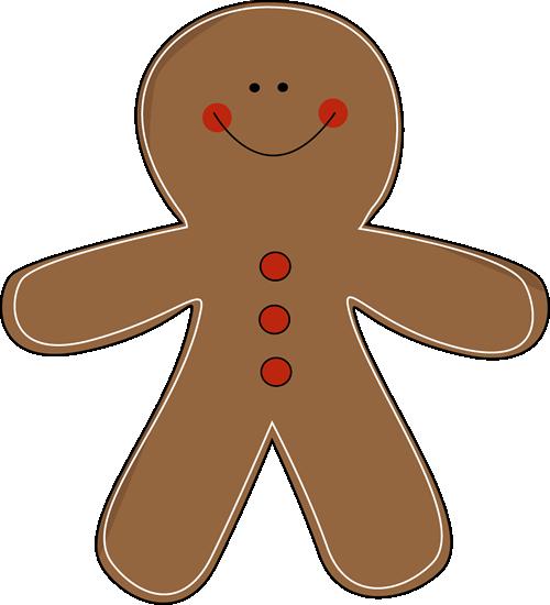 free clip art christmas gingerbread man.