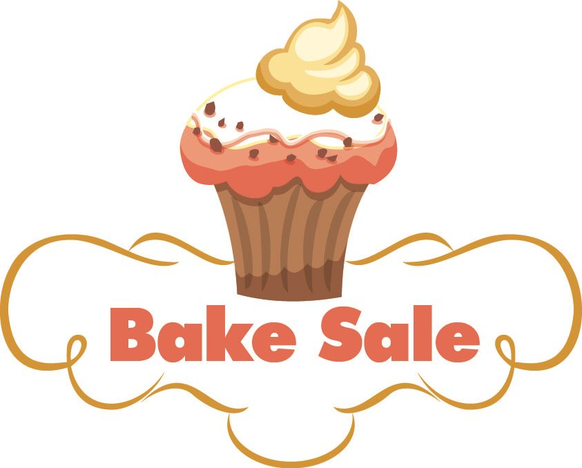 Clip art for a Bake sale..