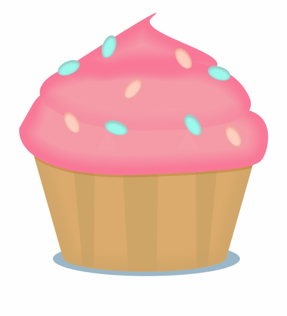Small Cupcake Clipart.