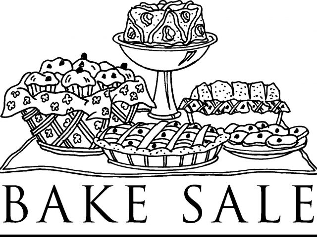 Bake sale clip art school.