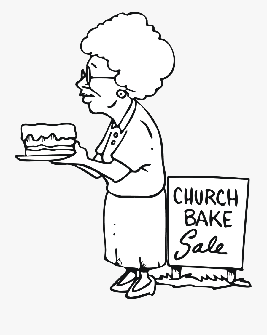 Bake Sale Black And White Clipart , Free Transparent Clipart.