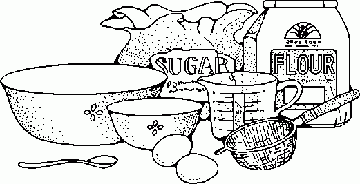 Free Bake Sale Clipart Black And White, Download Free Clip.