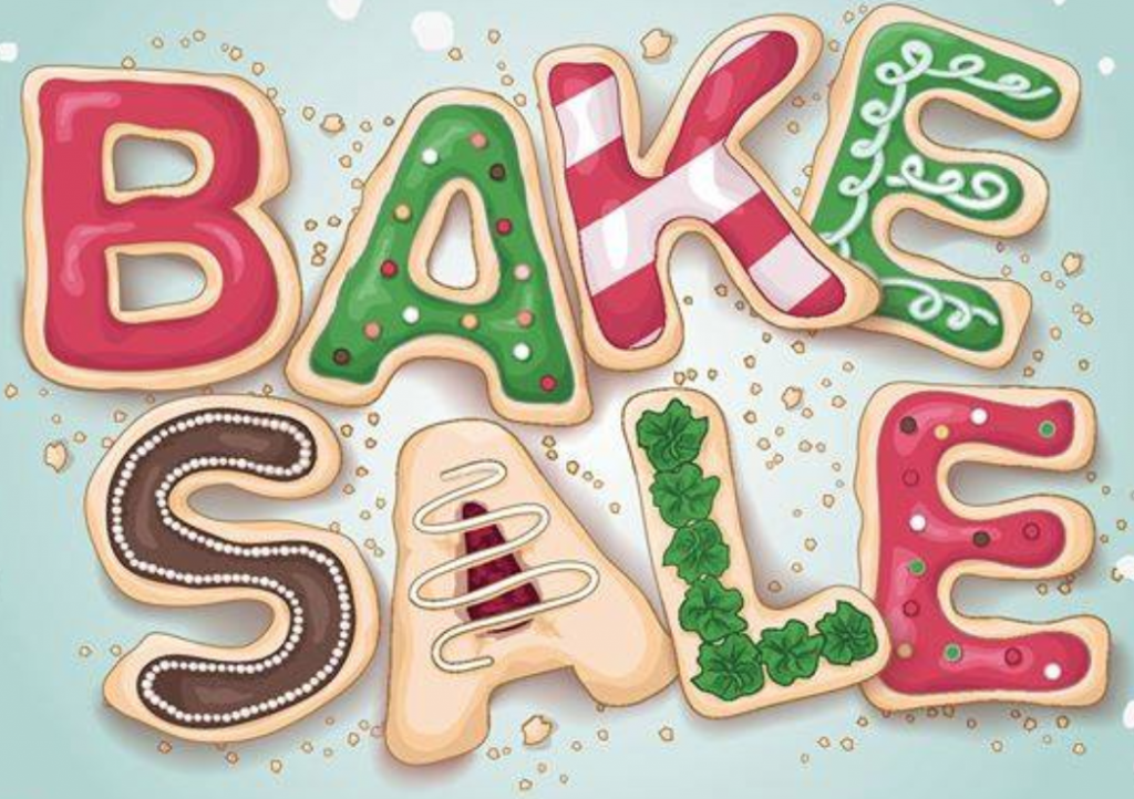 CREEK Council Holiday Bake Sale.