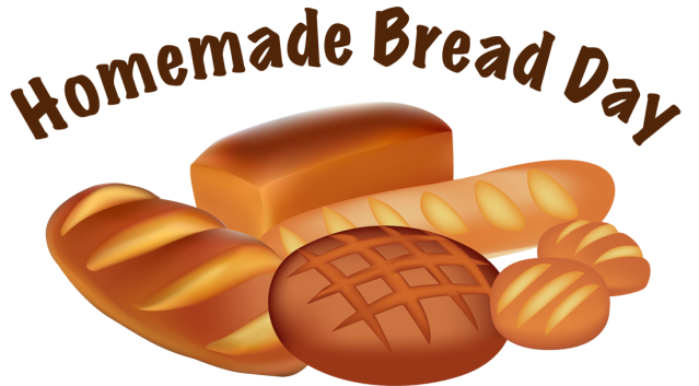 Baked bread clipart.