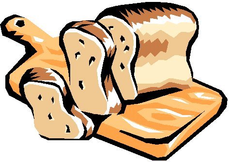 Picture Of A Baked Bread Clipart.