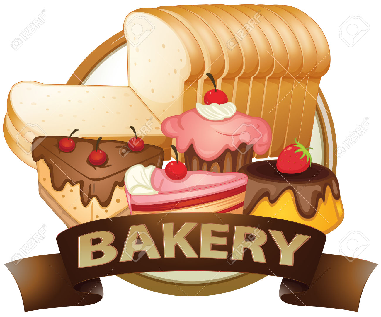 Baked Food Clipart Clipground
