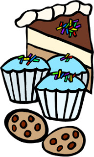 Baked Goods Donations Clipart.