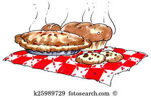 Baked goods Clipart and Stock Illustrations. 398 baked goods.