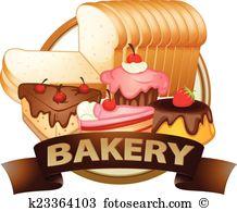 Baked goods Clipart Royalty Free. 2,343 baked goods clip art.