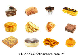 Baked goods Clipart and Stock Illustrations. 397 baked goods.