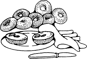 Baked goods clipart black and white, Picture #248985 baked.