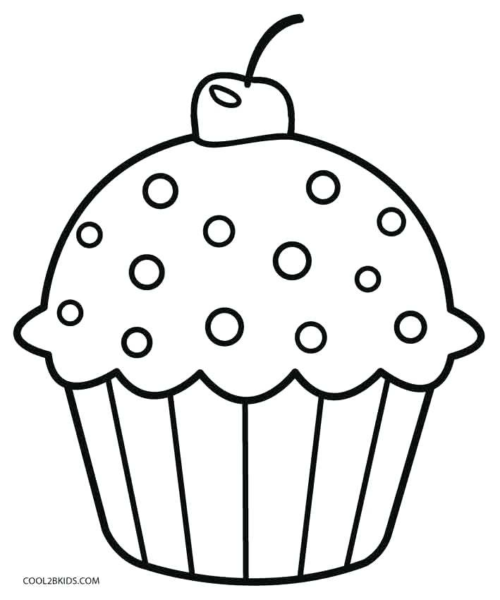 Baked Goods Coloring Pages at GetDrawings.com.