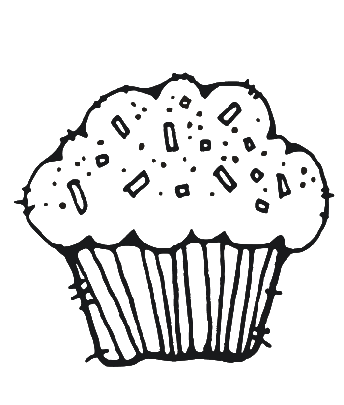 Free Muffin Coloring Page, Download Free Clip Art, Free Clip.