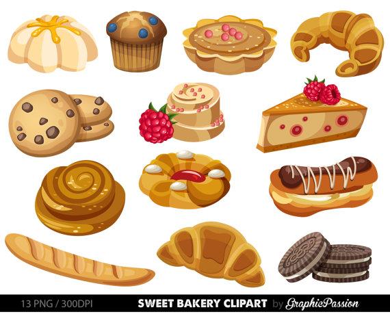 Baked goods clipart clip art, Baked goods clip art.