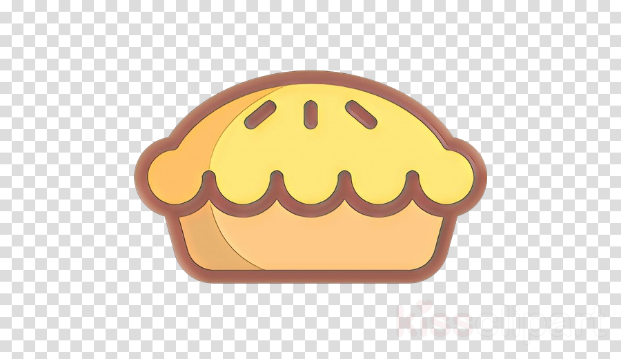 yellow food smile baked goods fast food clipart.