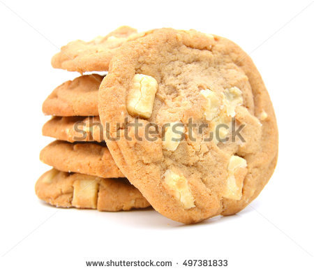 Macadamia Nut Cookie Stock Photos, Royalty.