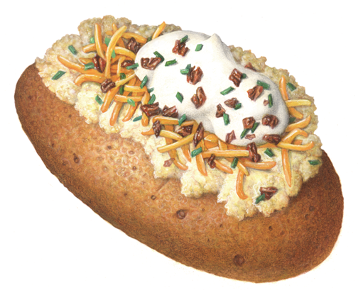 Free Baked Potatoes Cliparts, Download Free Clip Art, Free Clip Art.
