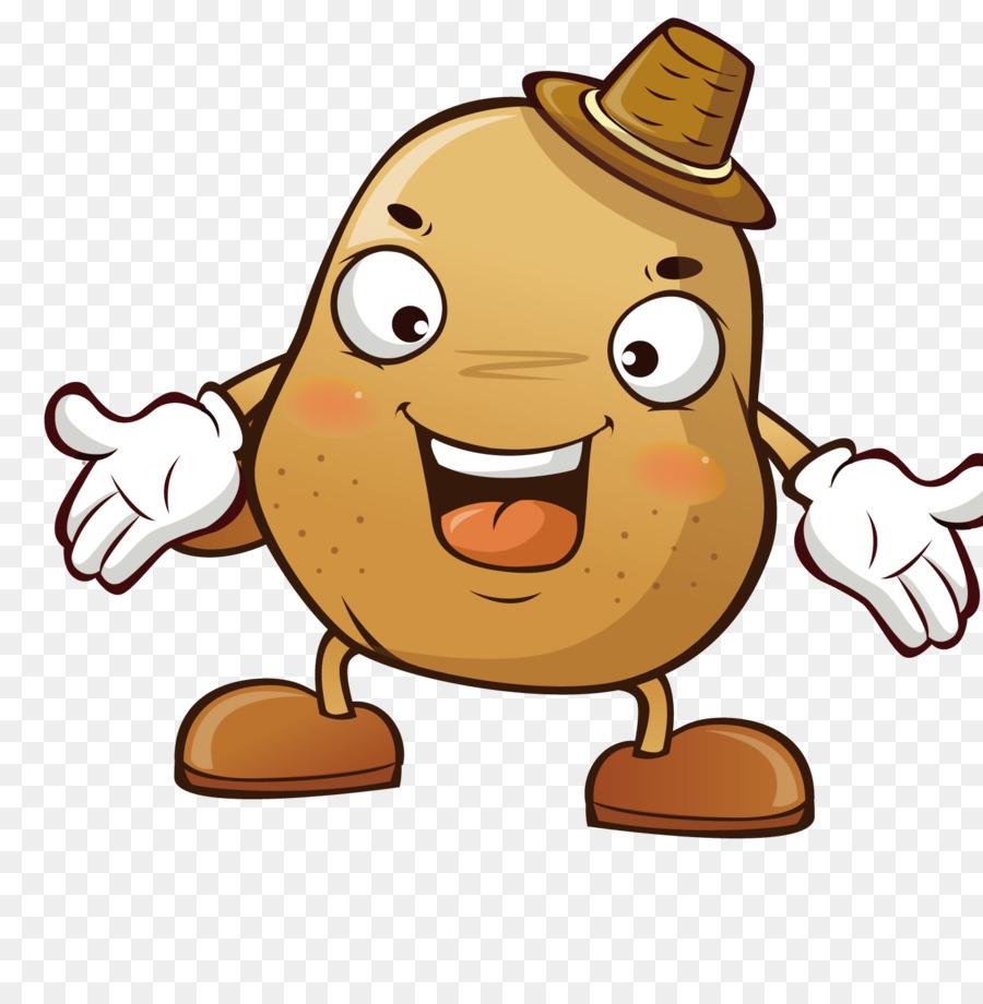 Potato Cartoon png download.