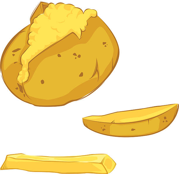 Best Baked Potatoes Illustrations, Royalty.