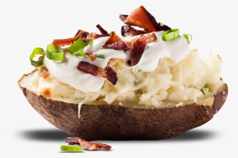 Free Baked Potato Clip Art with No Background.