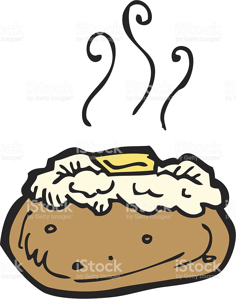 Baked Potato Clipart Free.