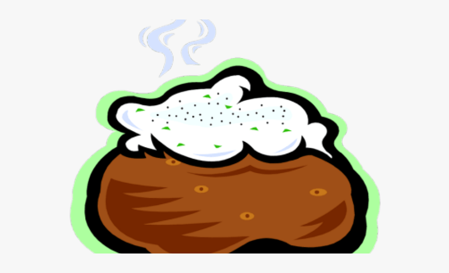 Baked Potato Picture Cartoon.