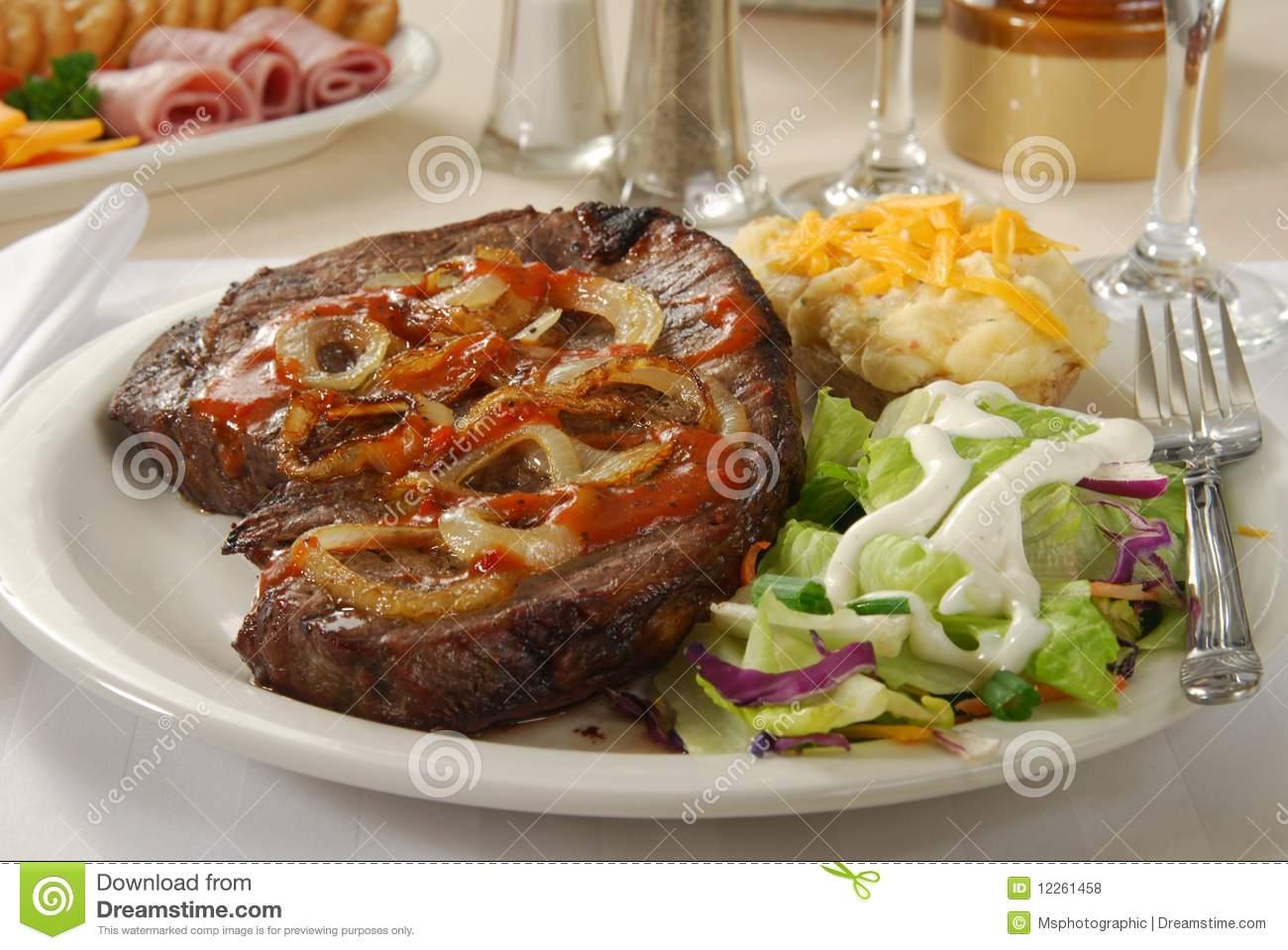 1260 Steak free clipart.
