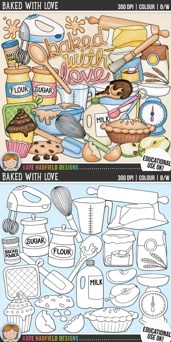 Baking Clip Art: \