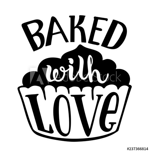Bake with love.