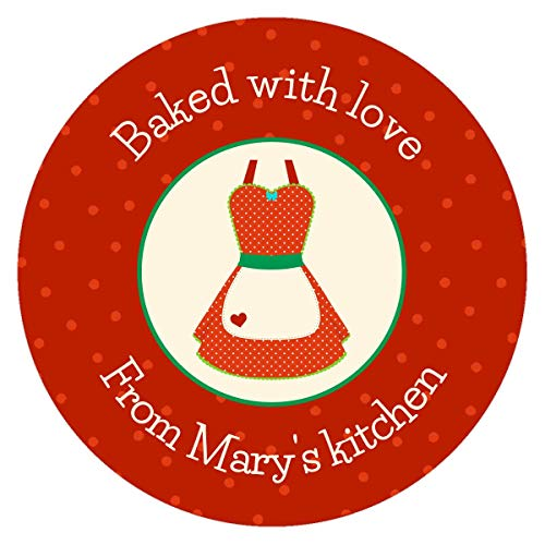 Amazon.com: Baked with love stickers.