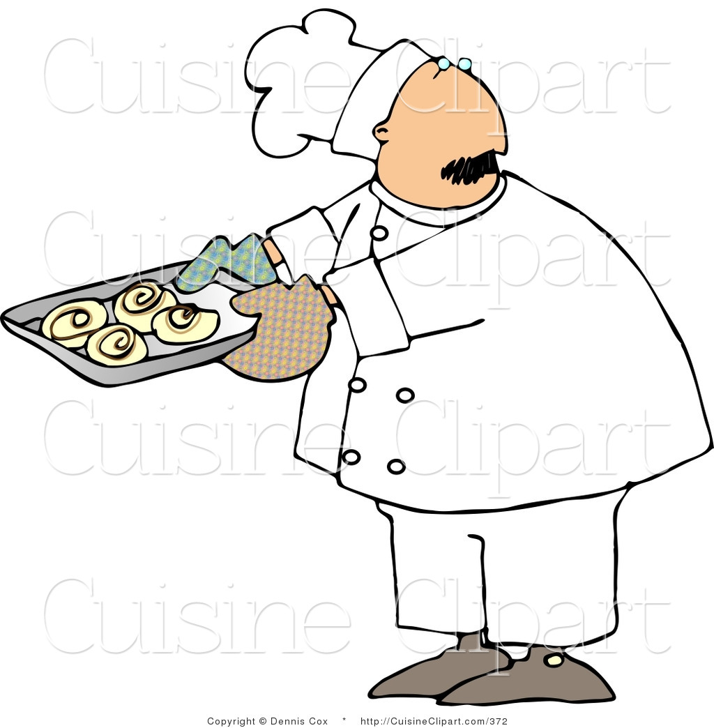 Lady Baker Clipart.