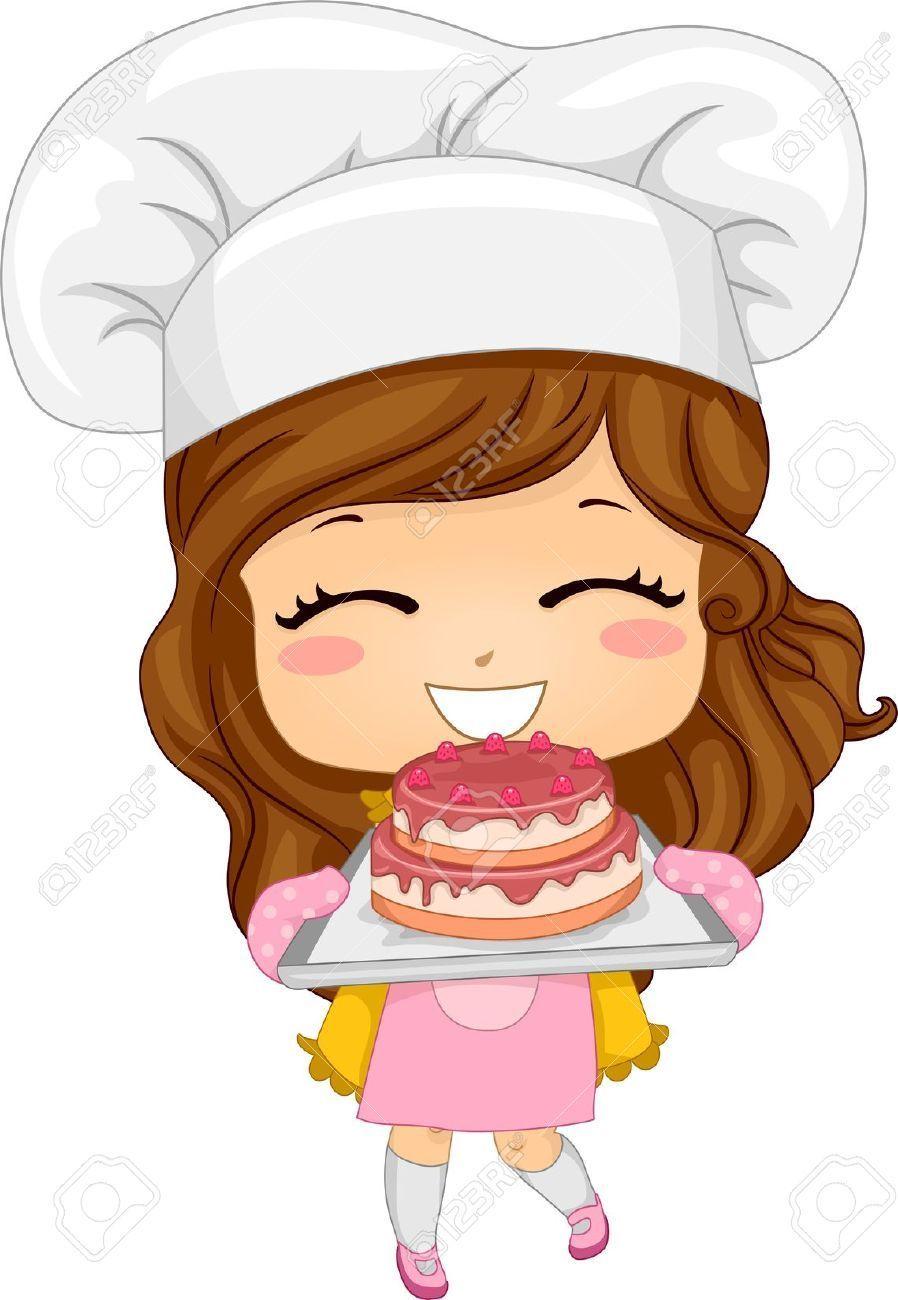 Baker girl clipart 9 » Clipart Portal.